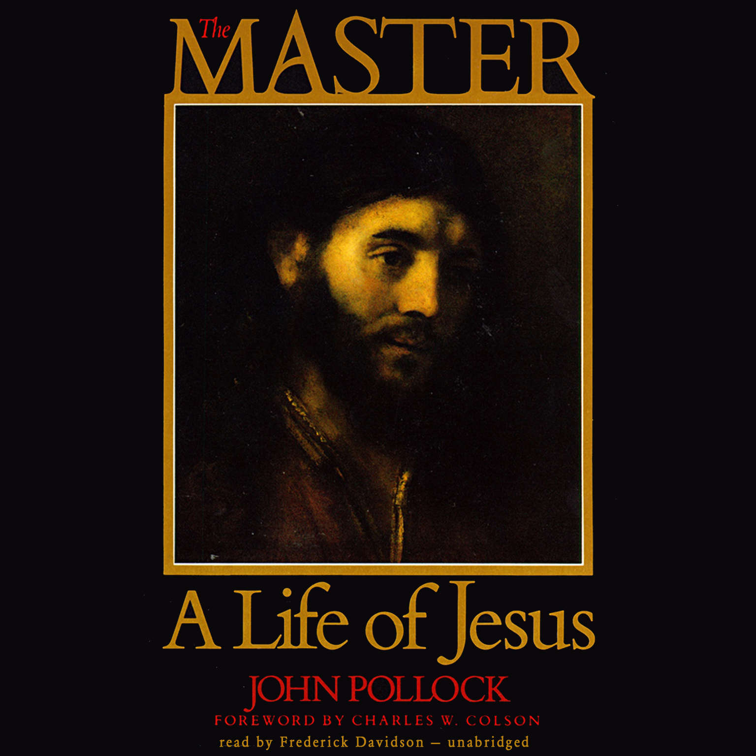 Printable The Master: A Life of Jesus Audiobook Cover Art