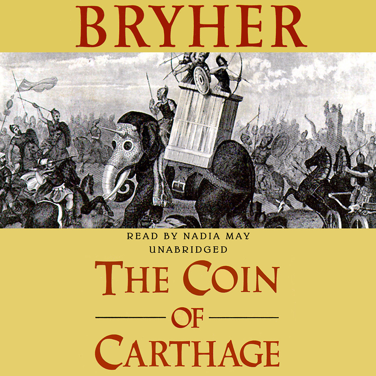 Printable The Coin of Carthage Audiobook Cover Art