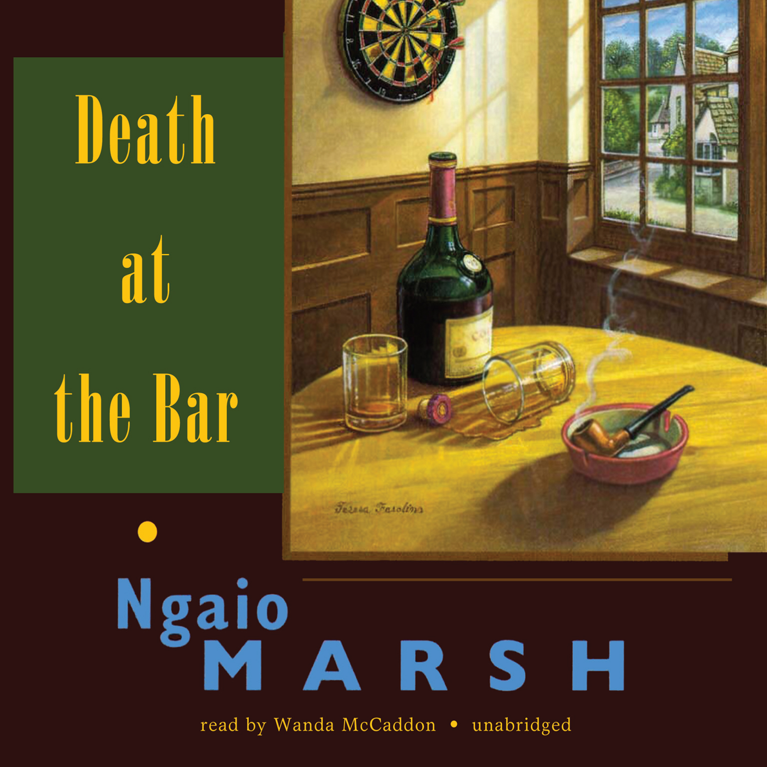 Printable Death at the Bar Audiobook Cover Art