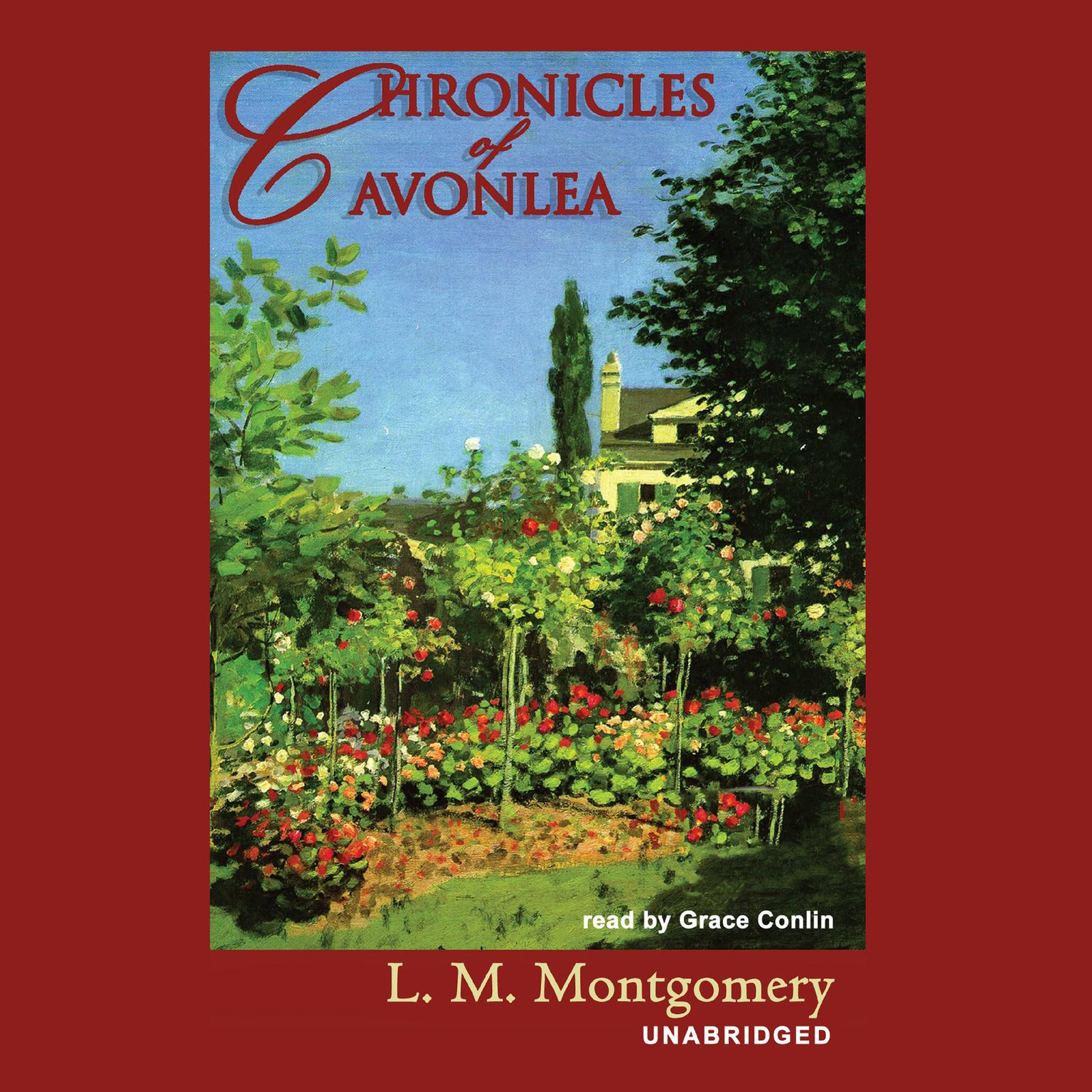 Printable Chronicles of Avonlea Audiobook Cover Art