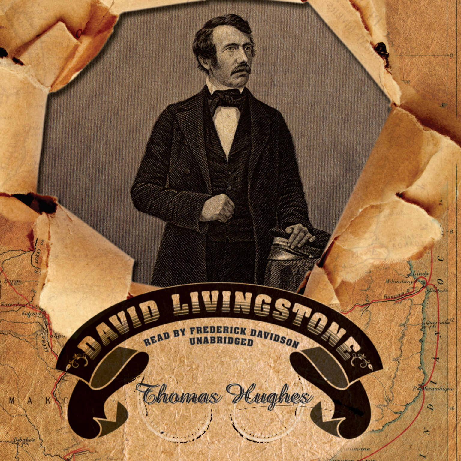 Printable David Livingstone Audiobook Cover Art