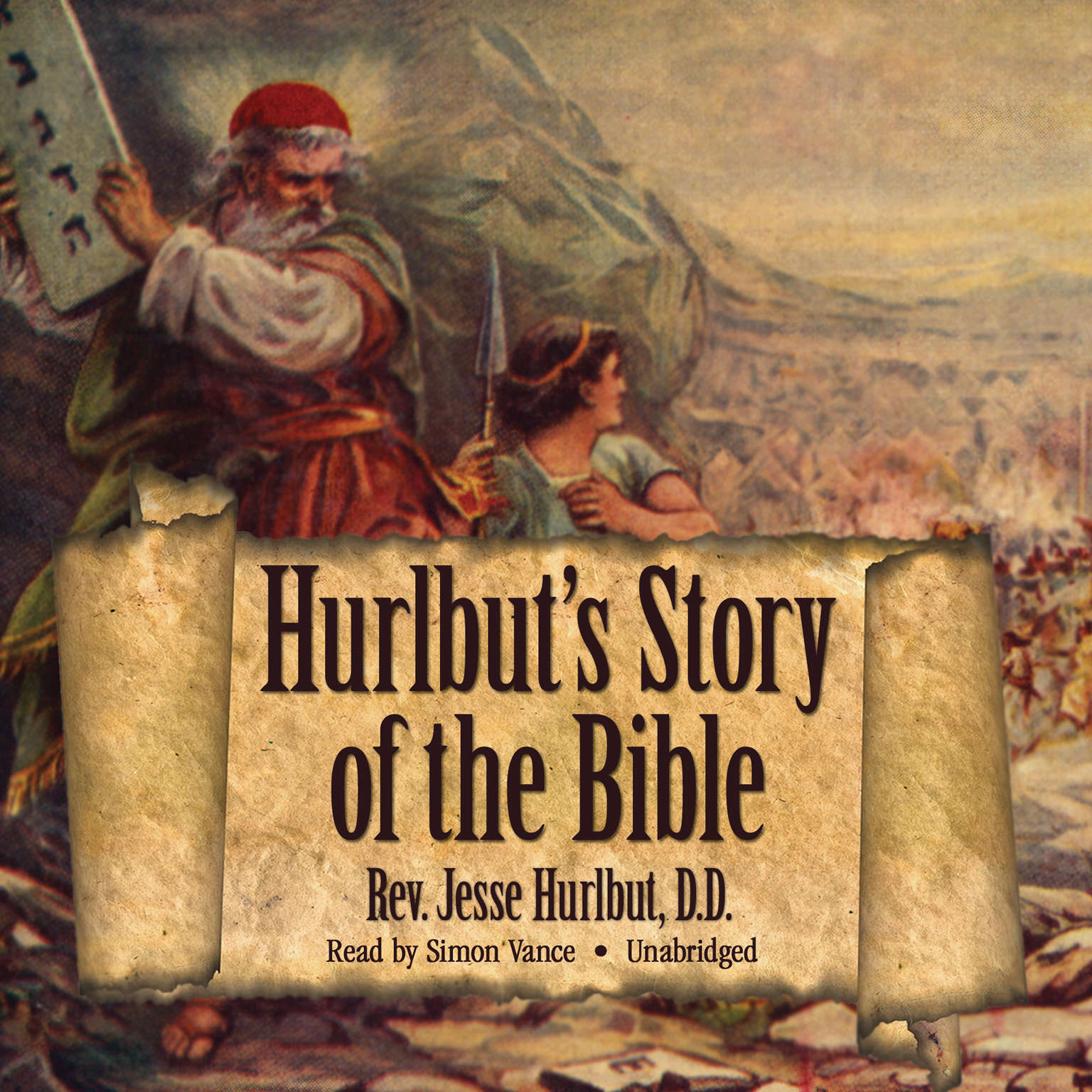 Printable Hurlbut's Story of the Bible Audiobook Cover Art