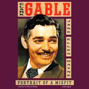 Clark Gable: Portrait of a Misfit Audiobook, by Jane Ellen Wayne