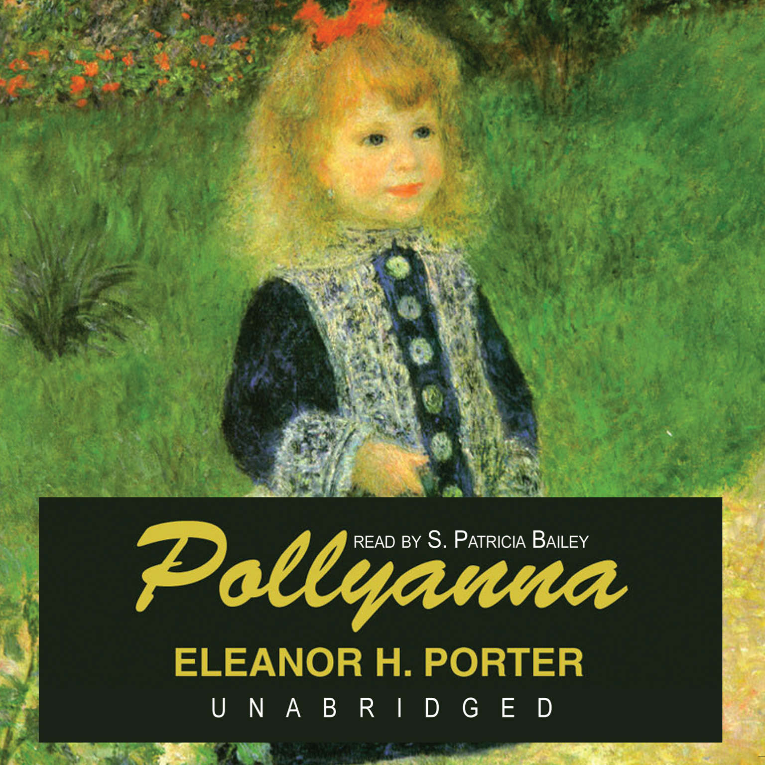 Printable Pollyanna Audiobook Cover Art