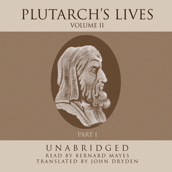 Printable Plutarch's Lives, Vol. 2 Audiobook Cover Art
