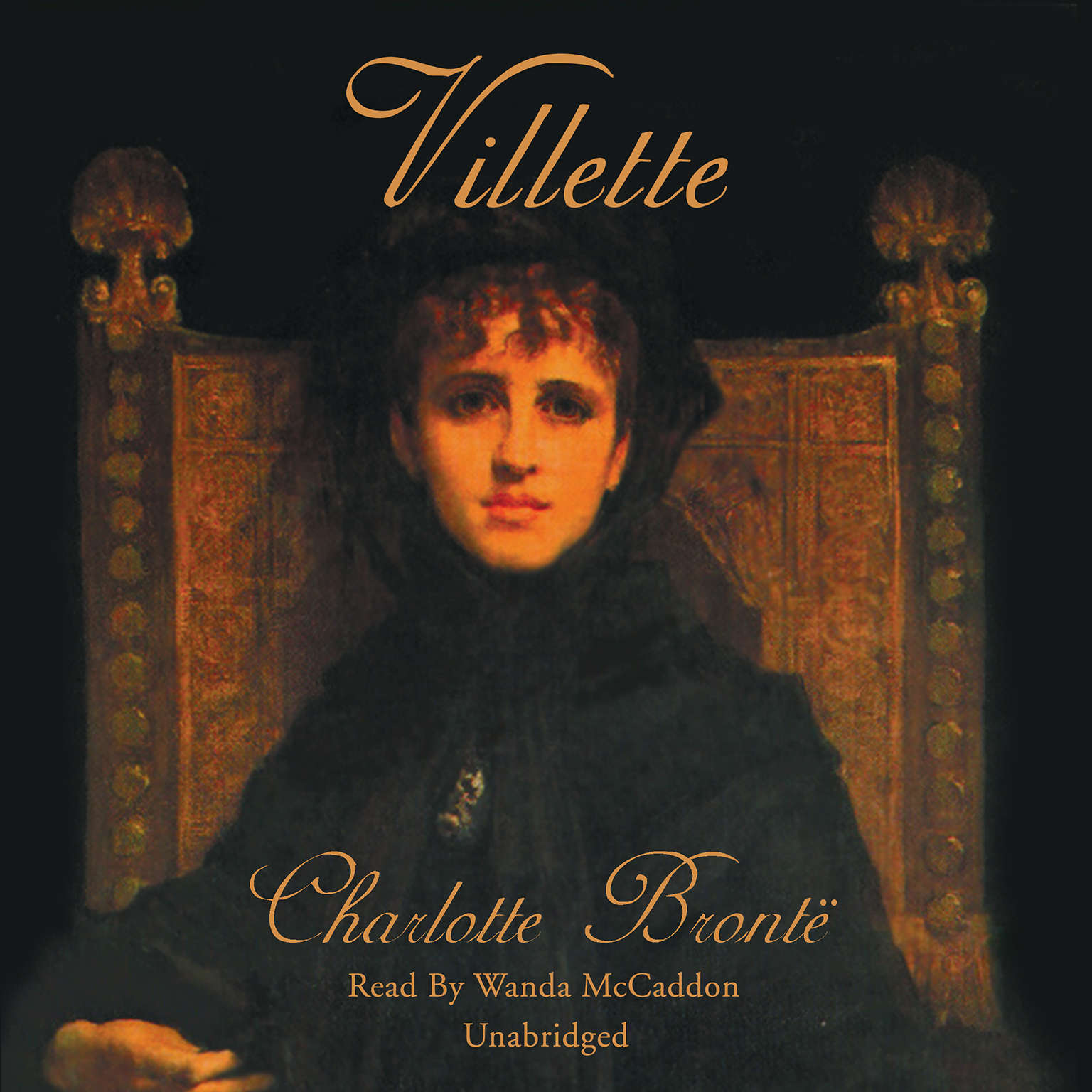 Printable Villette Audiobook Cover Art