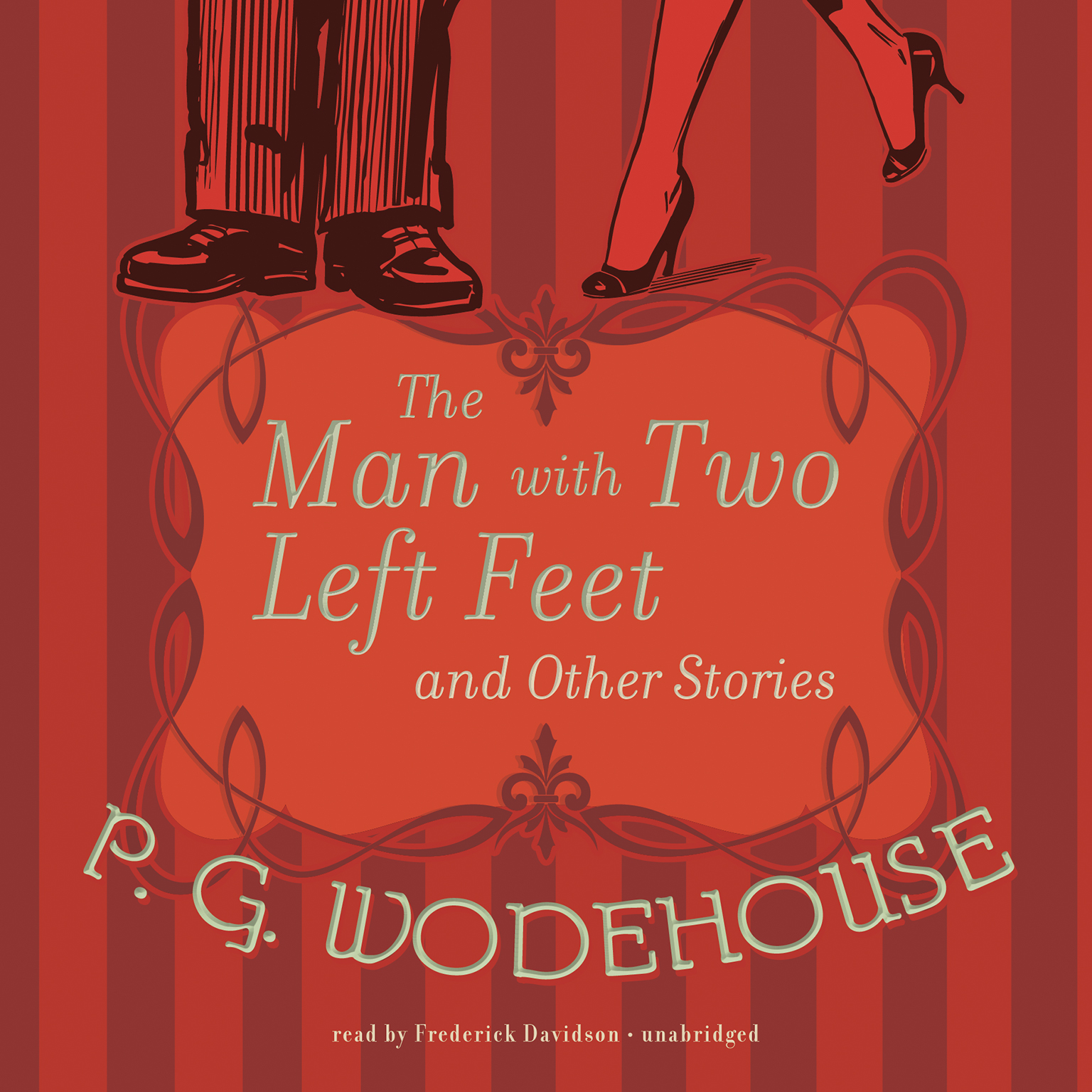 Printable The Man with Two Left Feet and Other Stories Audiobook Cover Art