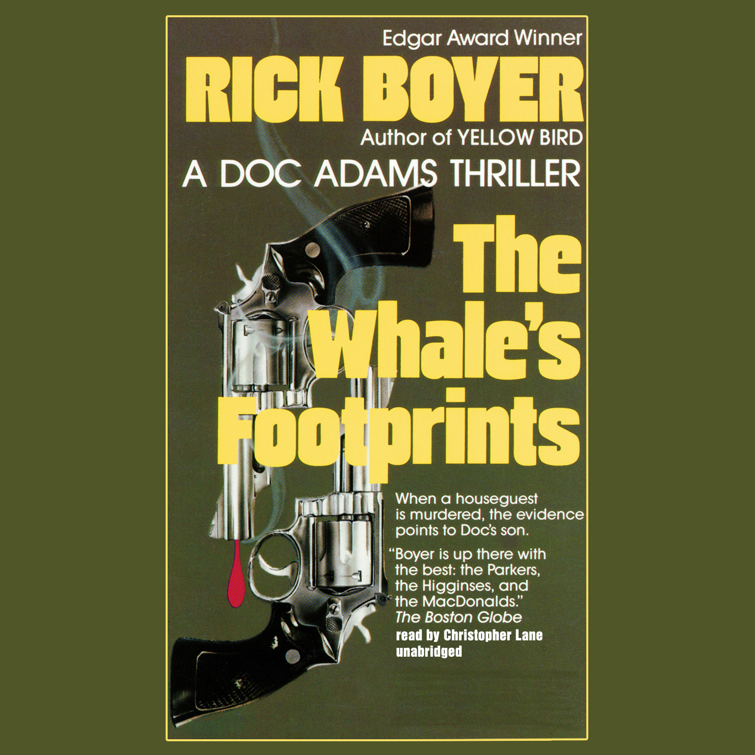 Printable The Whale's Footprints Audiobook Cover Art
