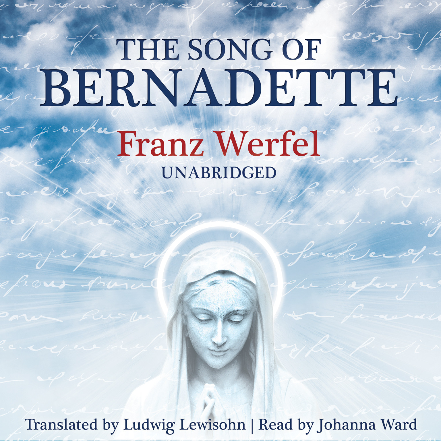 Printable The Song of Bernadette Audiobook Cover Art