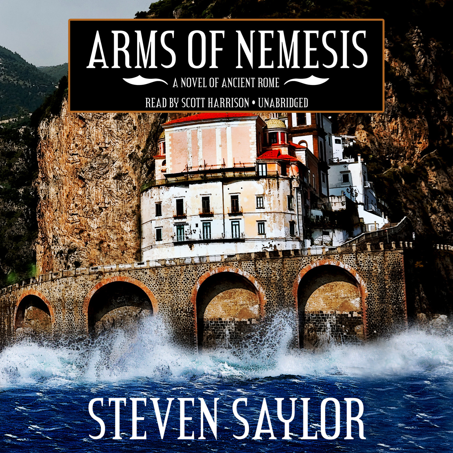 Printable Arms of Nemesis: A Novel of Ancient Rome Audiobook Cover Art