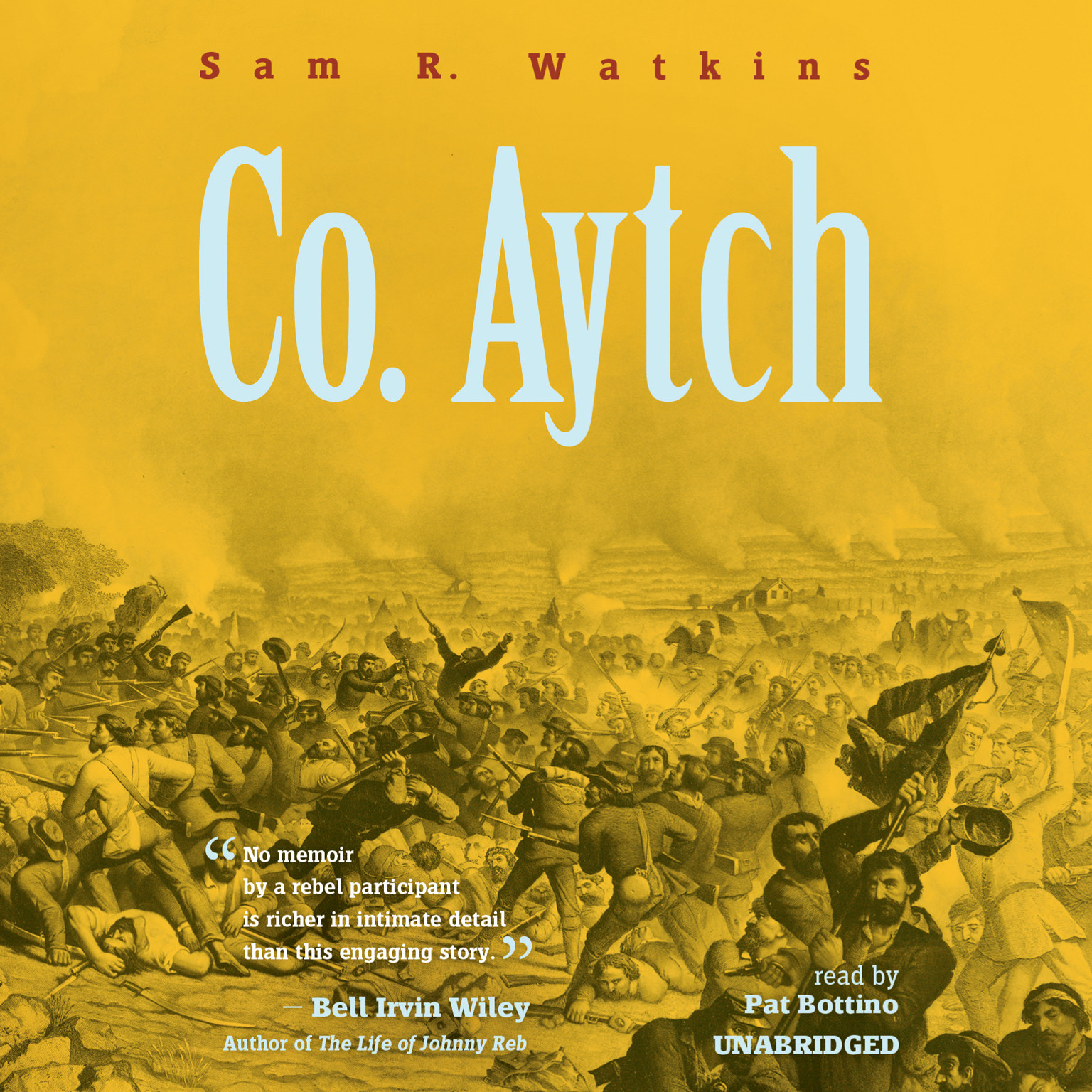 Printable Co. Aytch: A Sideshow of the Big Show Audiobook Cover Art