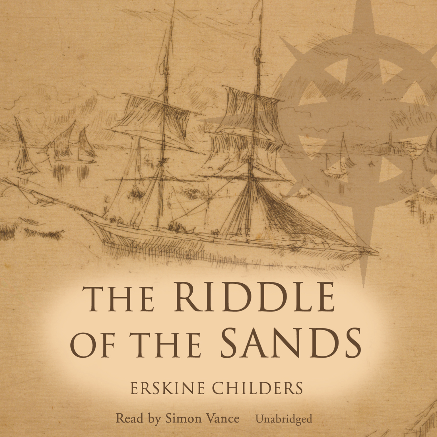 Printable The Riddle of the Sands: A Record of Secret Service Audiobook Cover Art