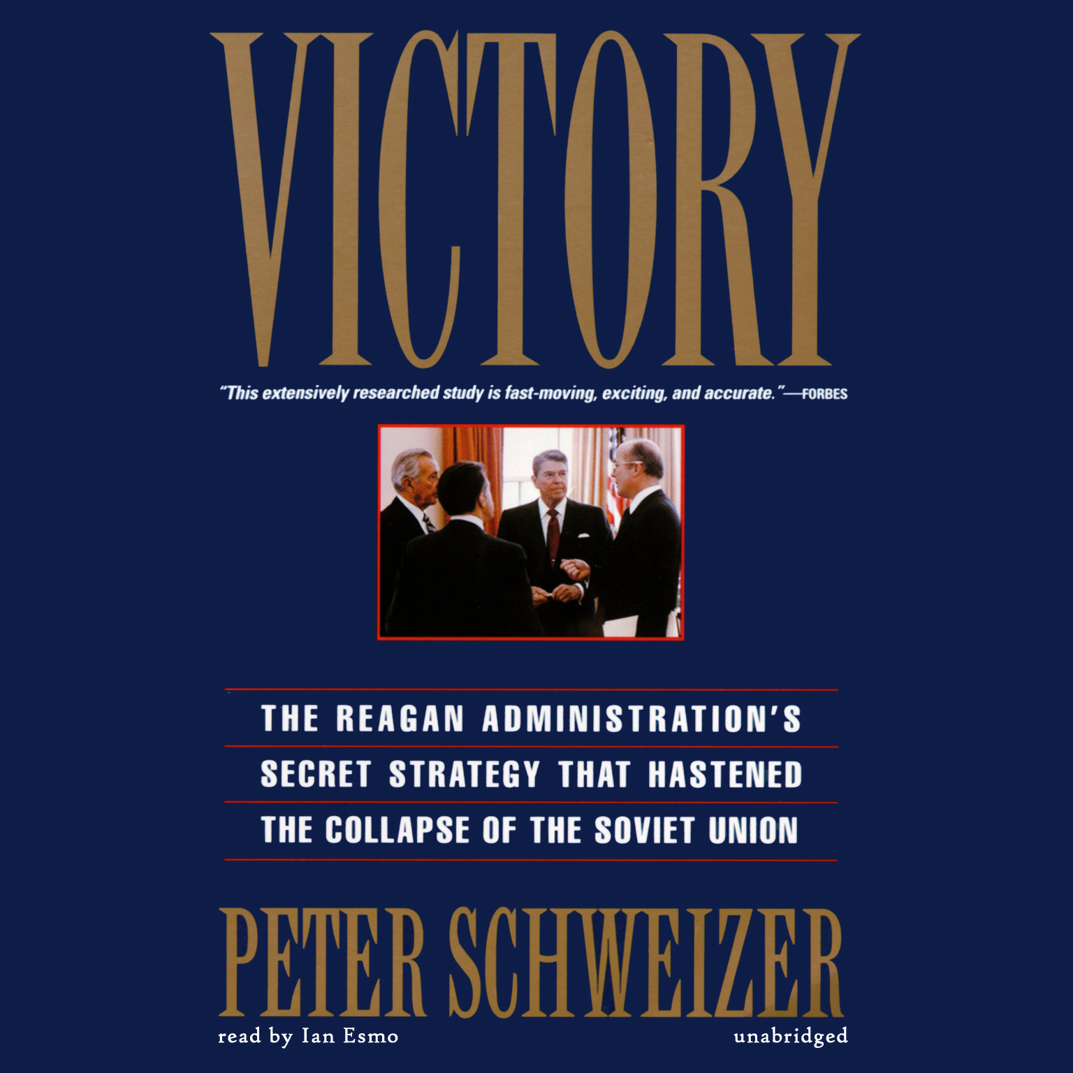 Printable Victory: The Reagan Administration's Secret Strategy That Hastened the Collapse of the Soviet Union Audiobook Cover Art