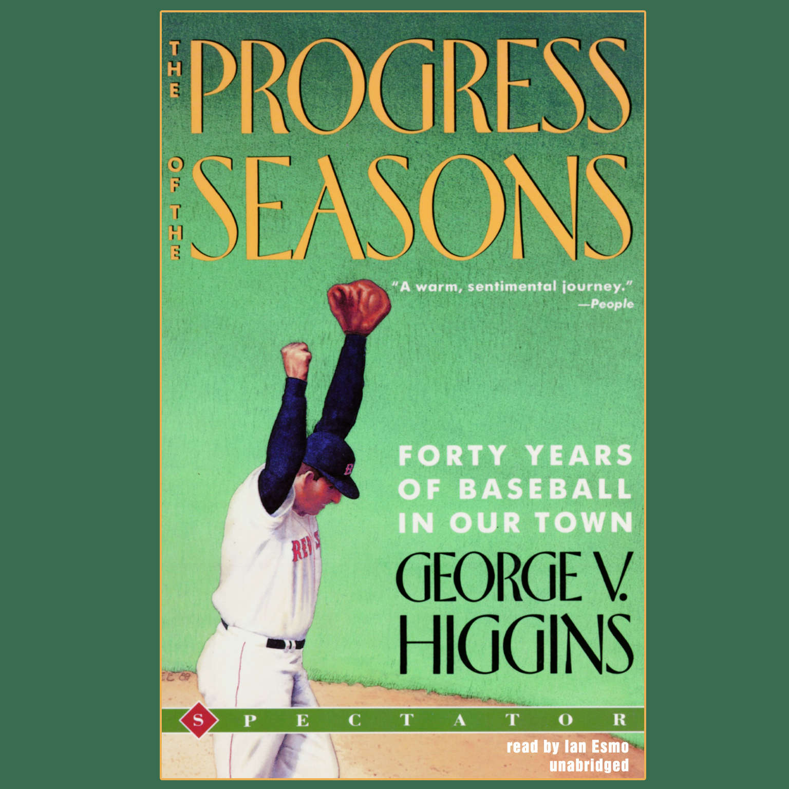 Printable The Progress of the Seasons: Forty Years of Baseball in Our Town Audiobook Cover Art