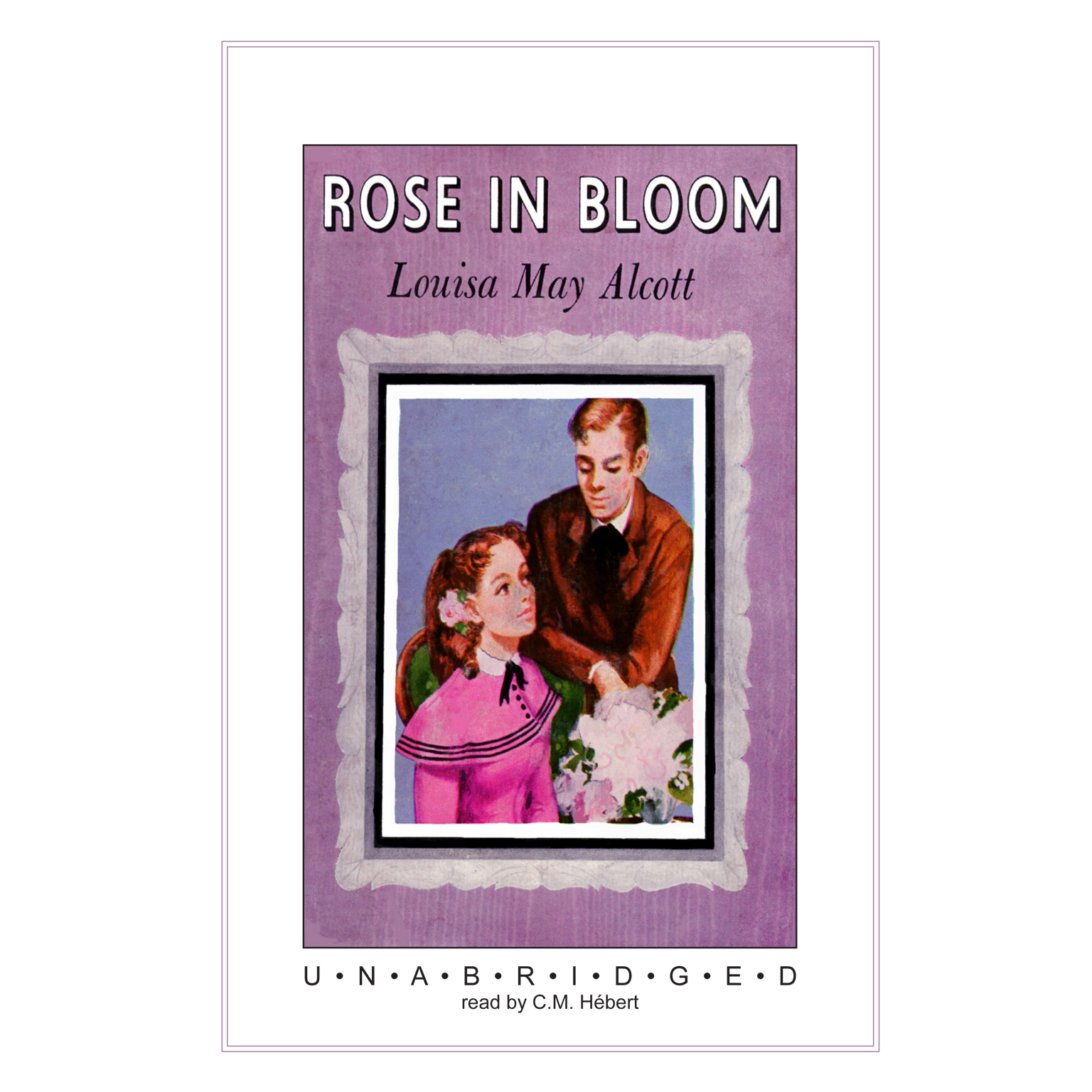 Printable Rose in Bloom Audiobook Cover Art
