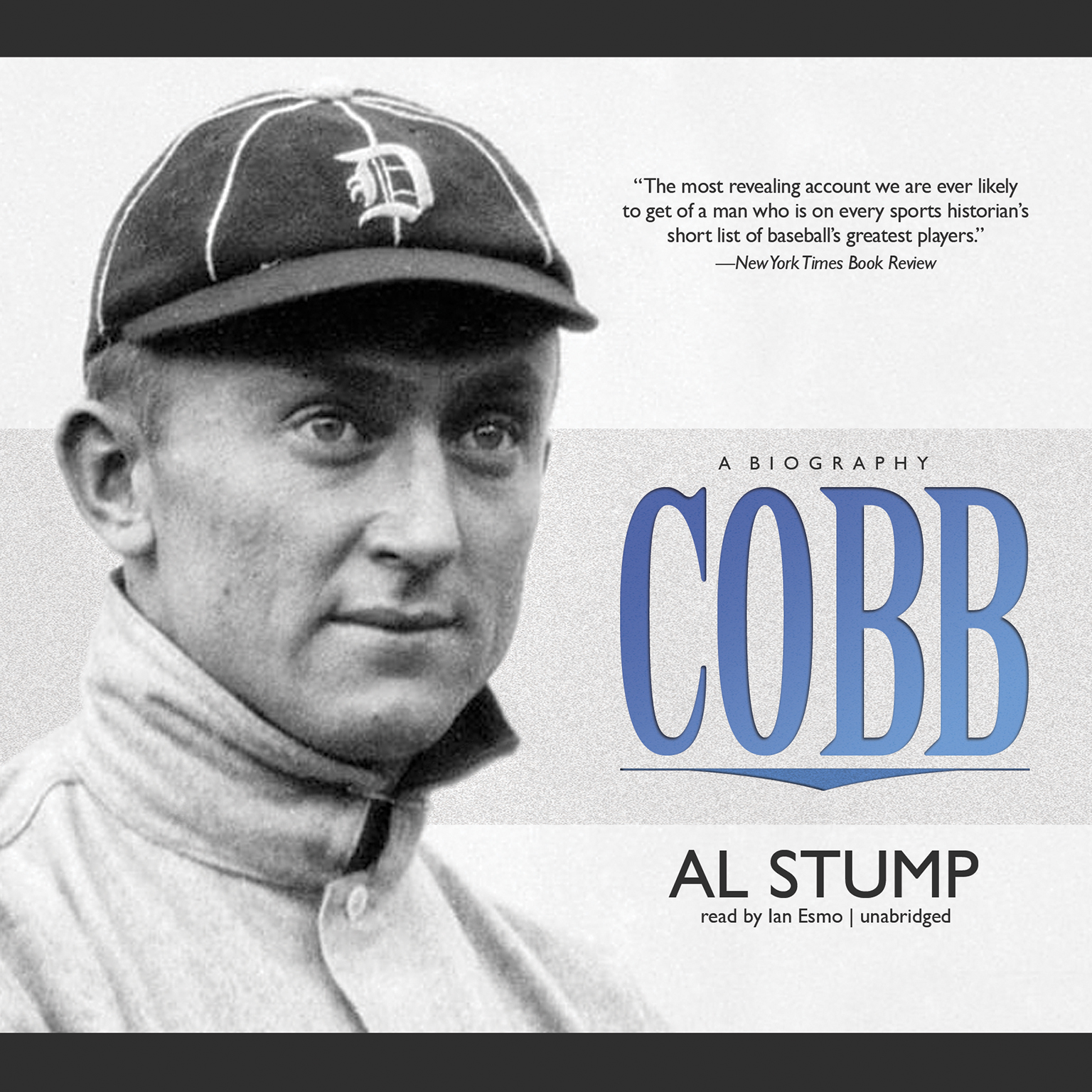 Printable Cobb: A Biography Audiobook Cover Art