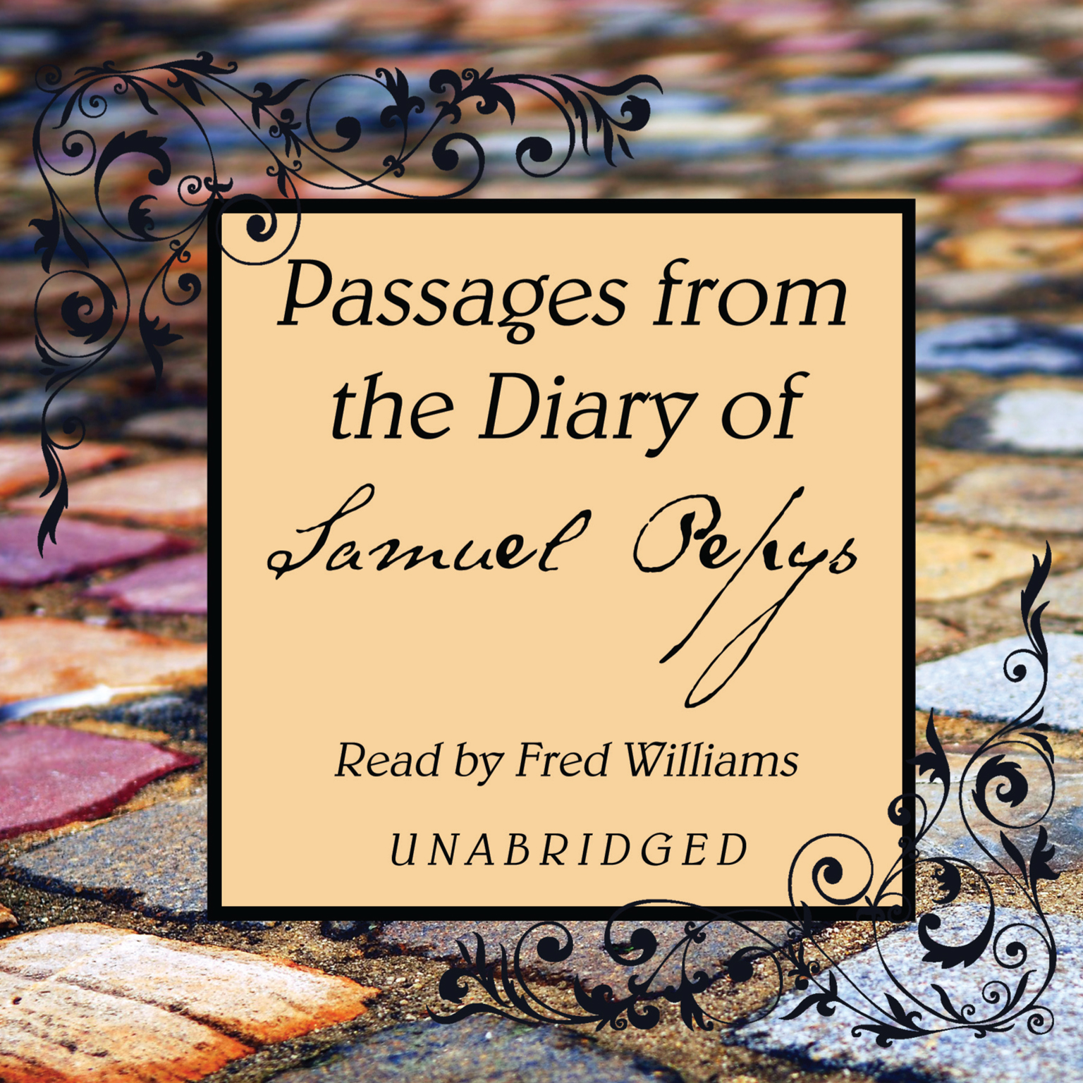 Printable Passages from the Diary of Samuel Pepys Audiobook Cover Art