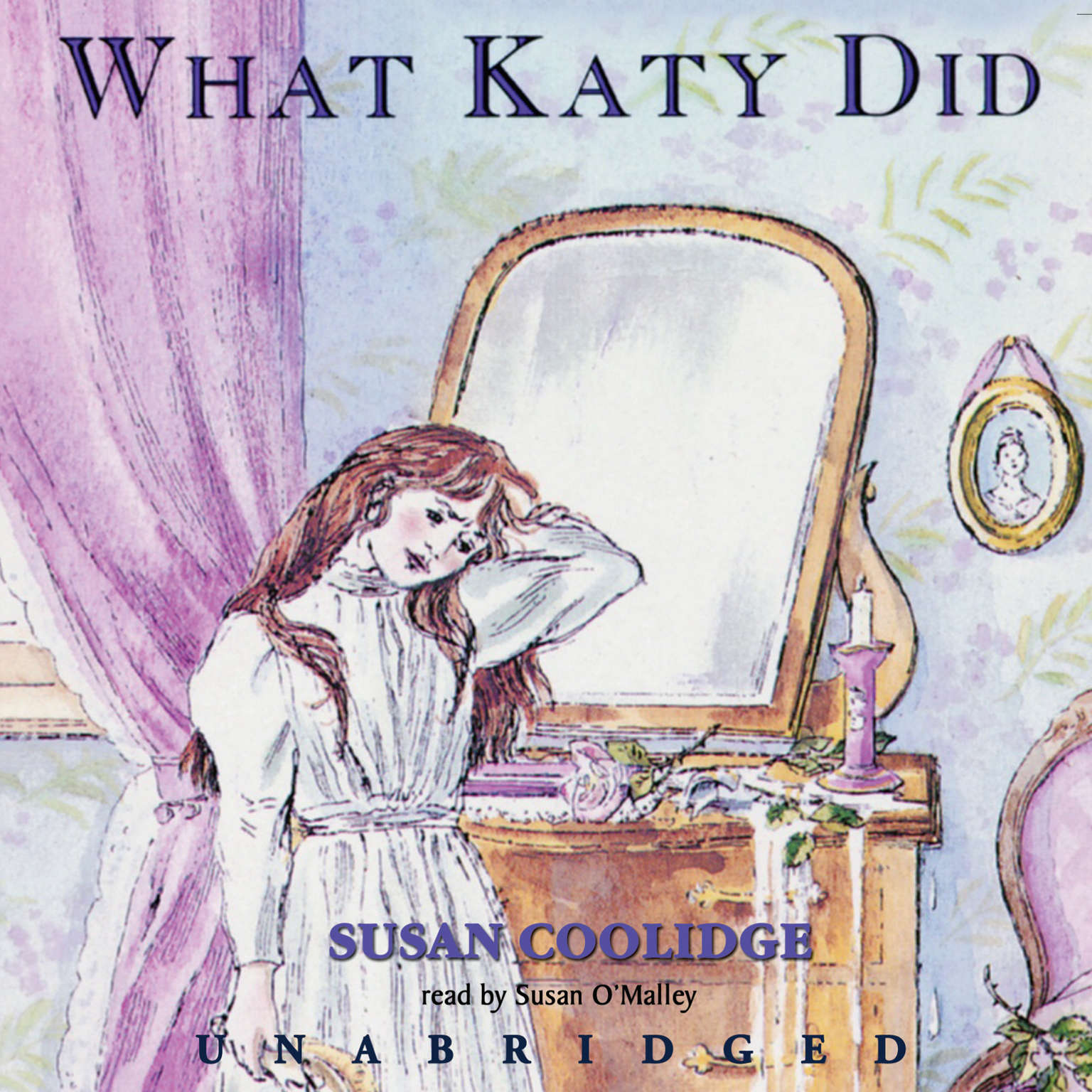 Printable What Katy Did Audiobook Cover Art