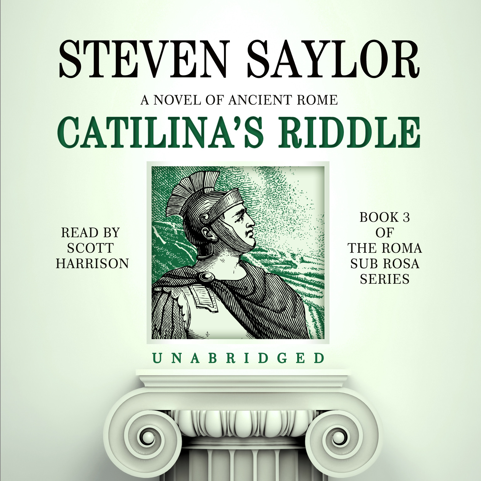Printable Catilina's Riddle Audiobook Cover Art