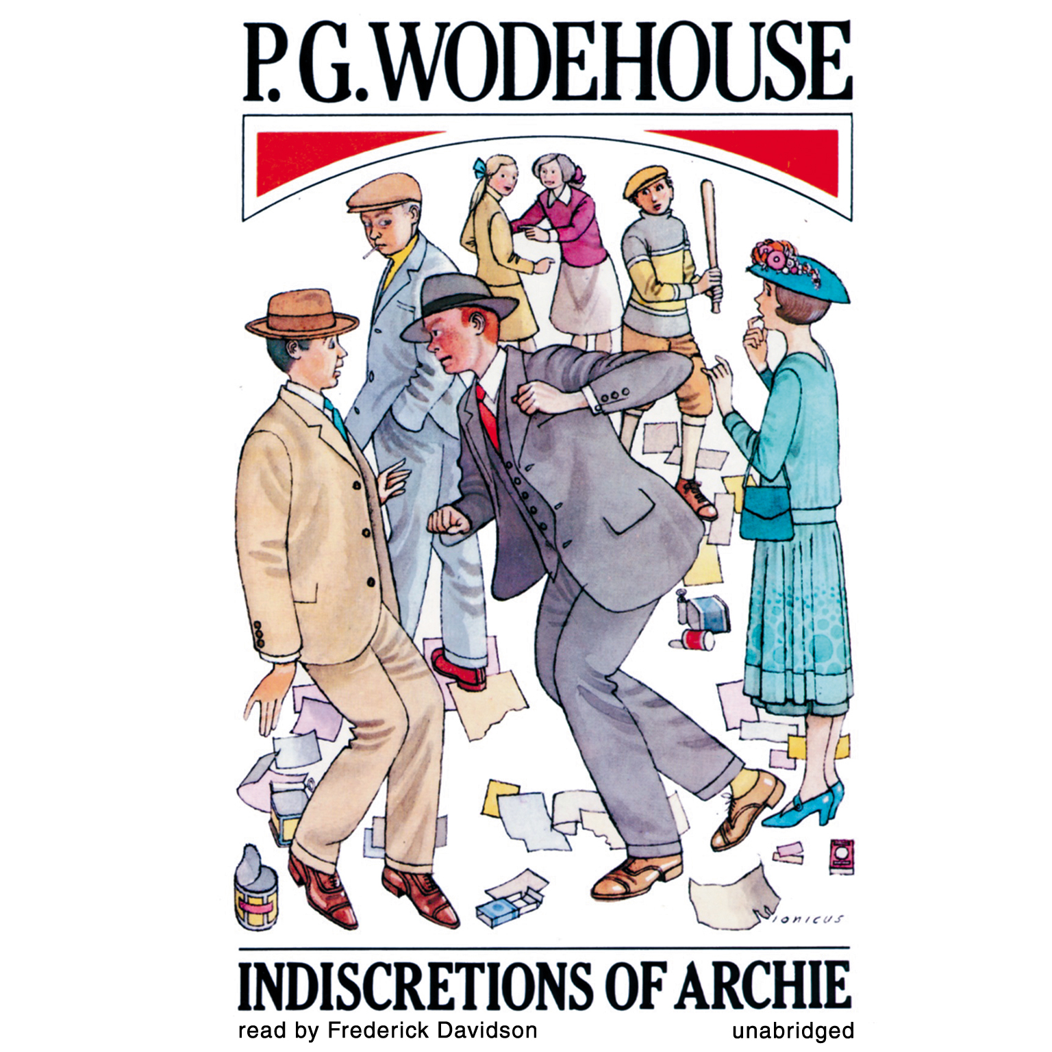 Printable Indiscretions of Archie Audiobook Cover Art