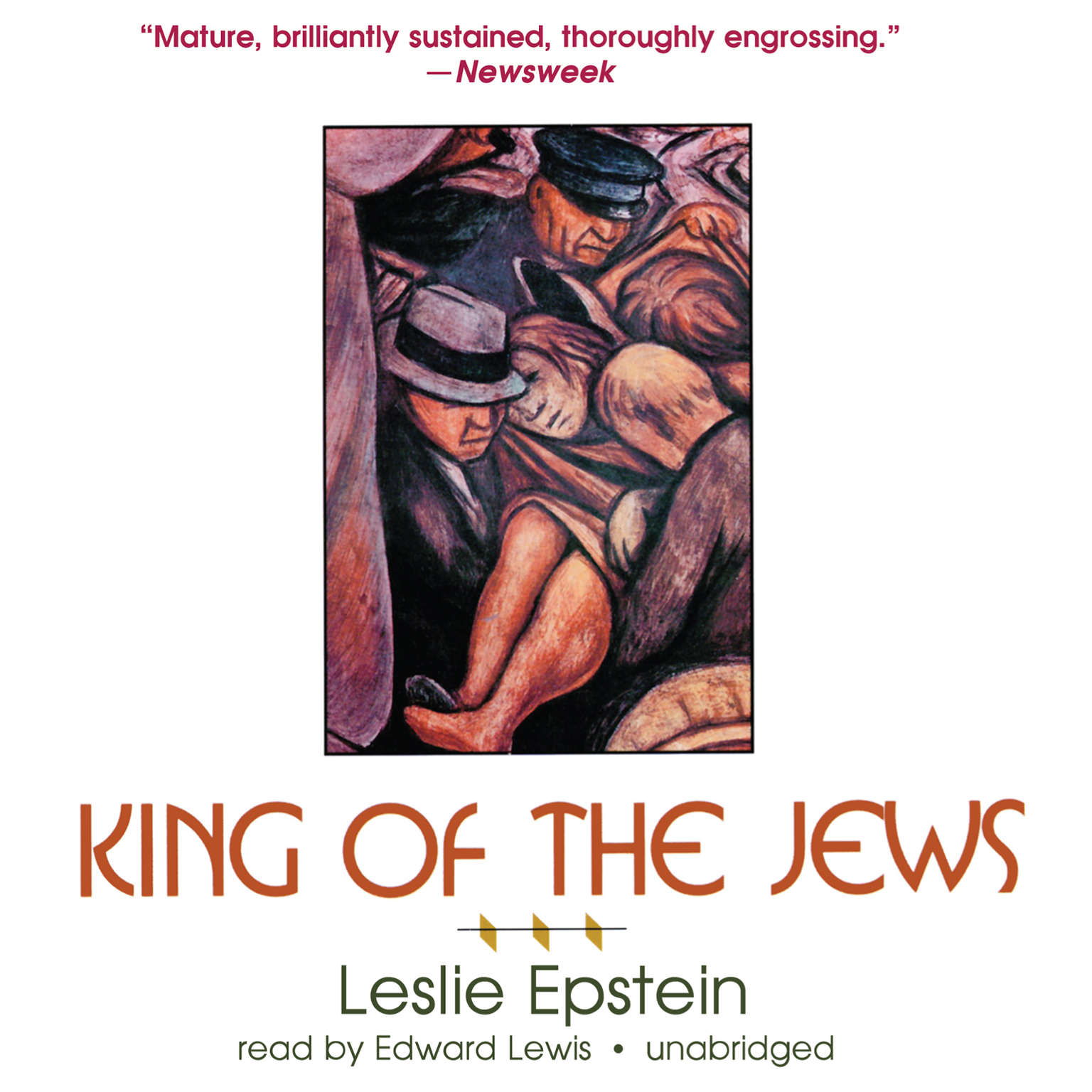 Printable King of the Jews: A Novel Audiobook Cover Art