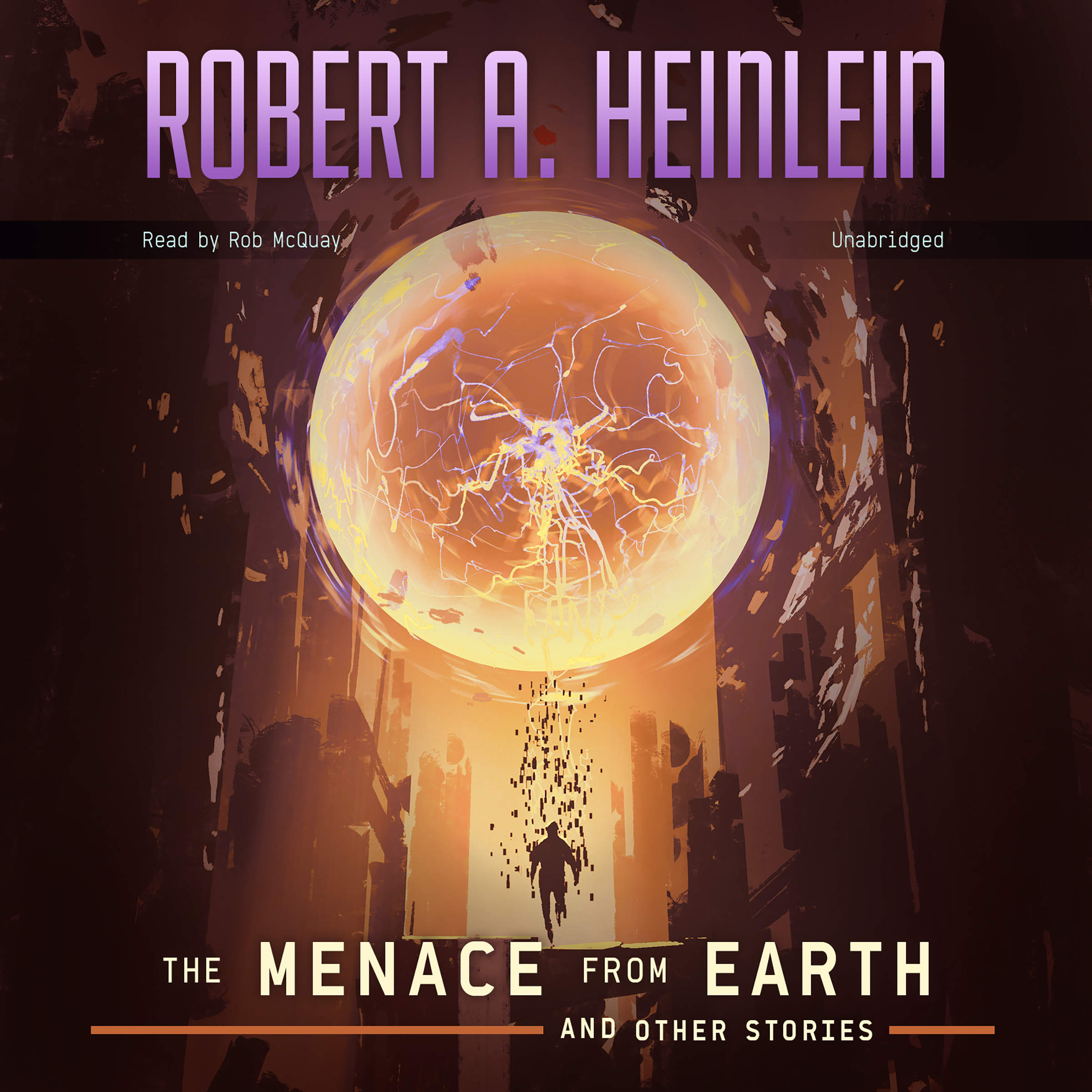 Printable The Menace from Earth, and Other Stories Audiobook Cover Art
