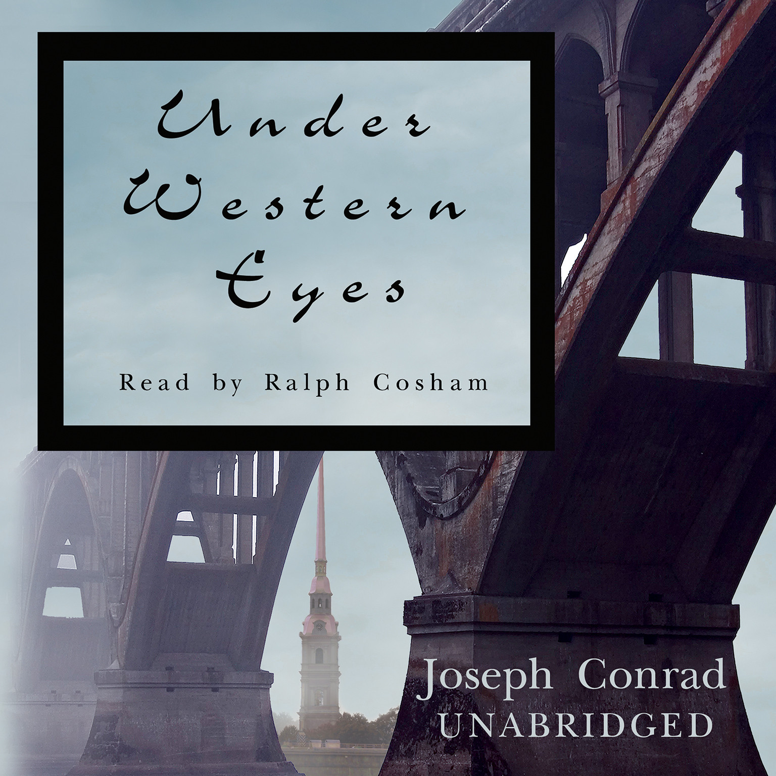 Printable Under Western Eyes Audiobook Cover Art