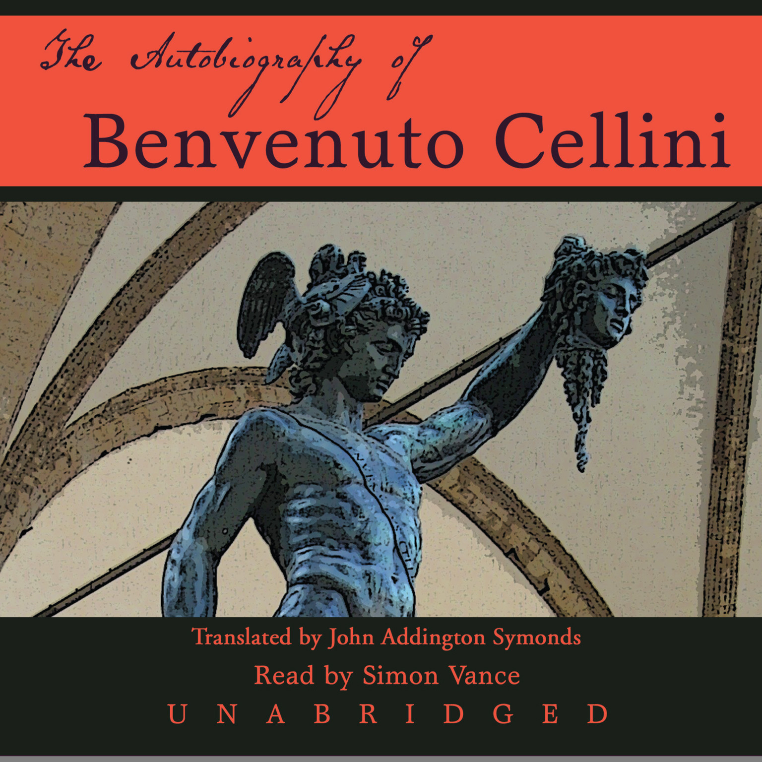 Printable The Autobiography of Benvenuto Cellini Audiobook Cover Art