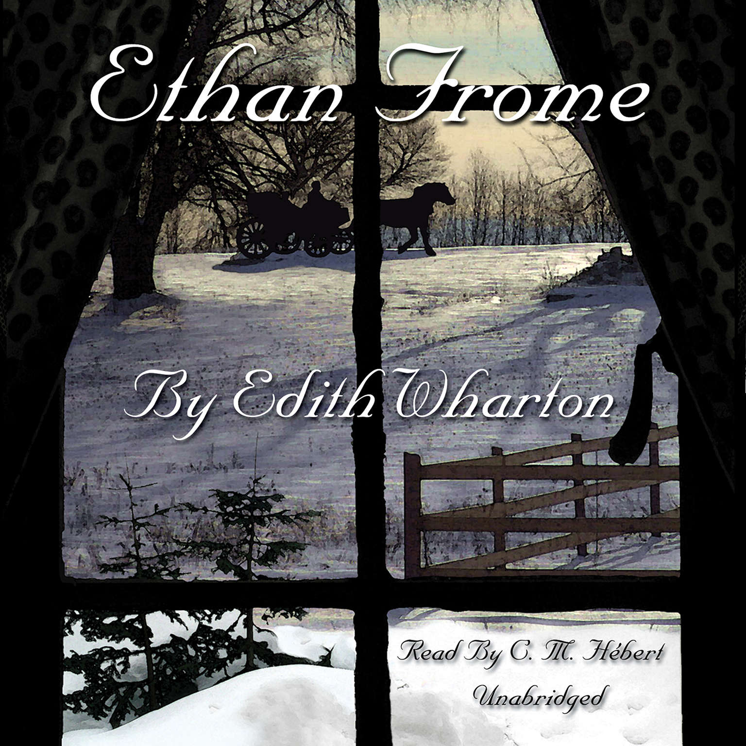 Printable Ethan Frome Audiobook Cover Art