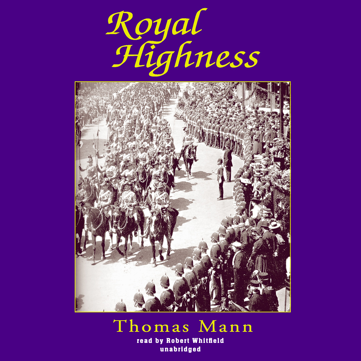 Printable Royal Highness Audiobook Cover Art