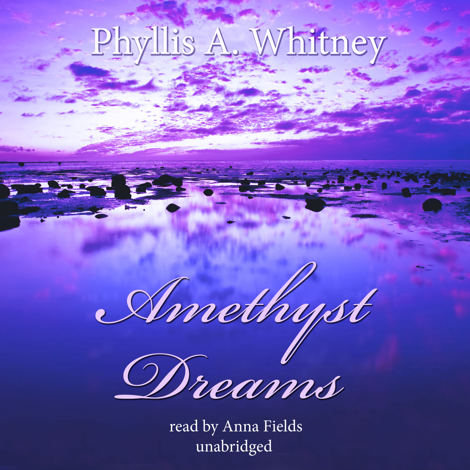 Printable Amethyst Dreams Audiobook Cover Art