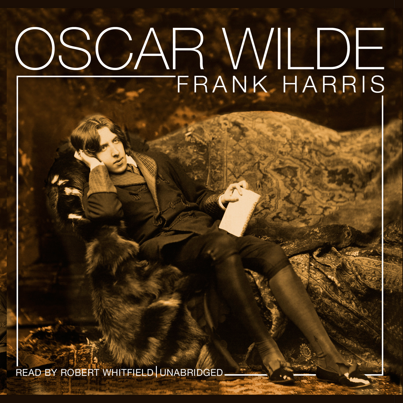 Printable Oscar Wilde Audiobook Cover Art