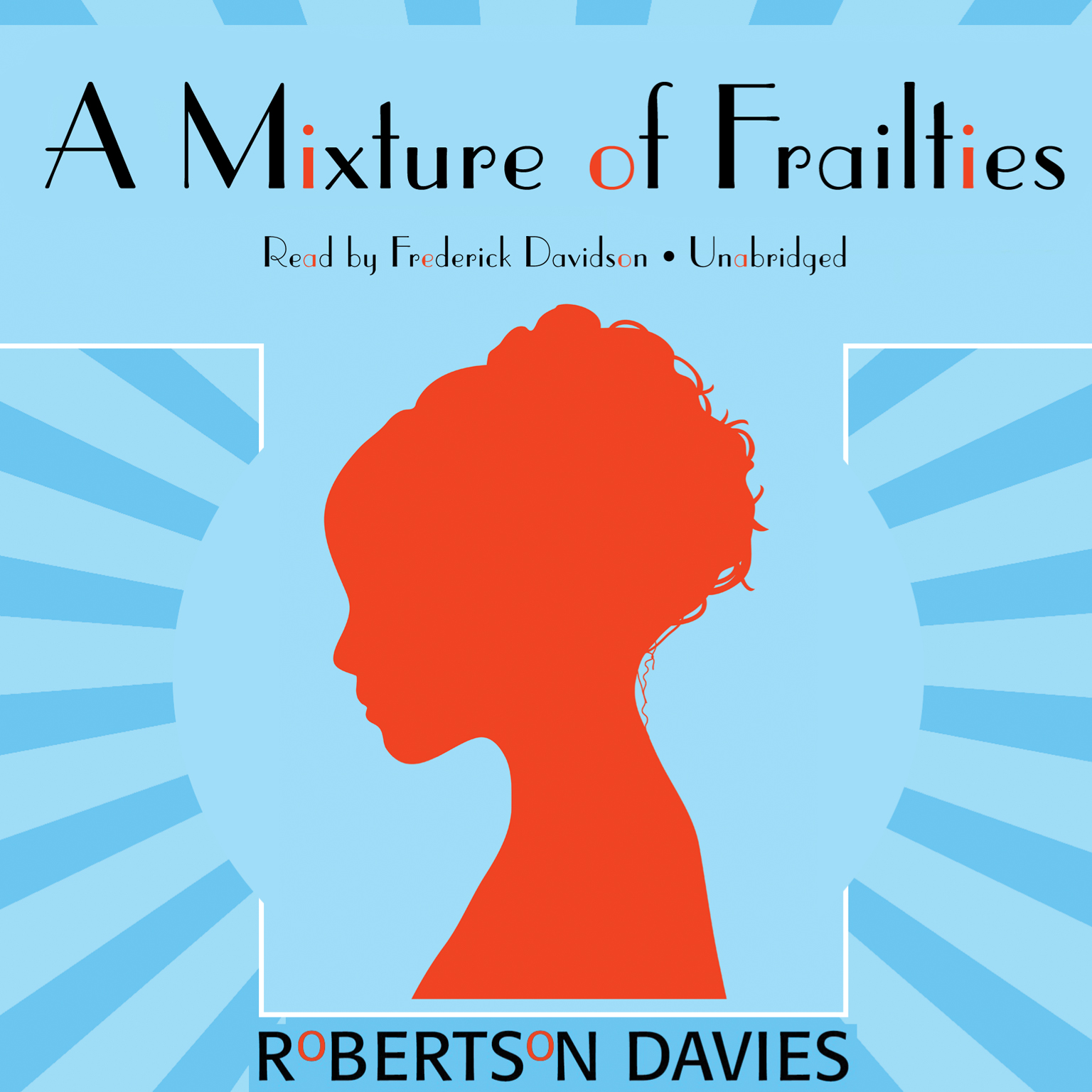 Printable A Mixture of Frailties Audiobook Cover Art