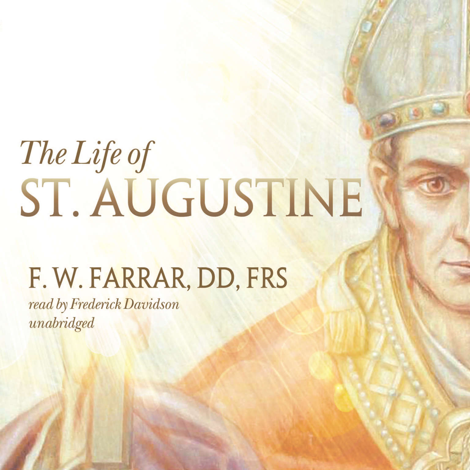 Printable The Life of St. Augustine Audiobook Cover Art