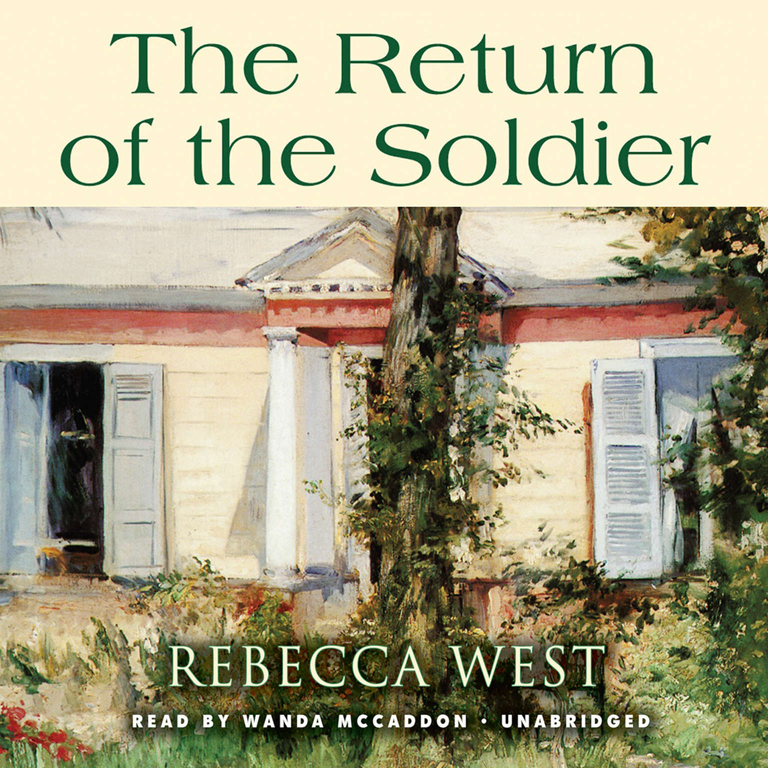 Printable The Return of the Soldier Audiobook Cover Art