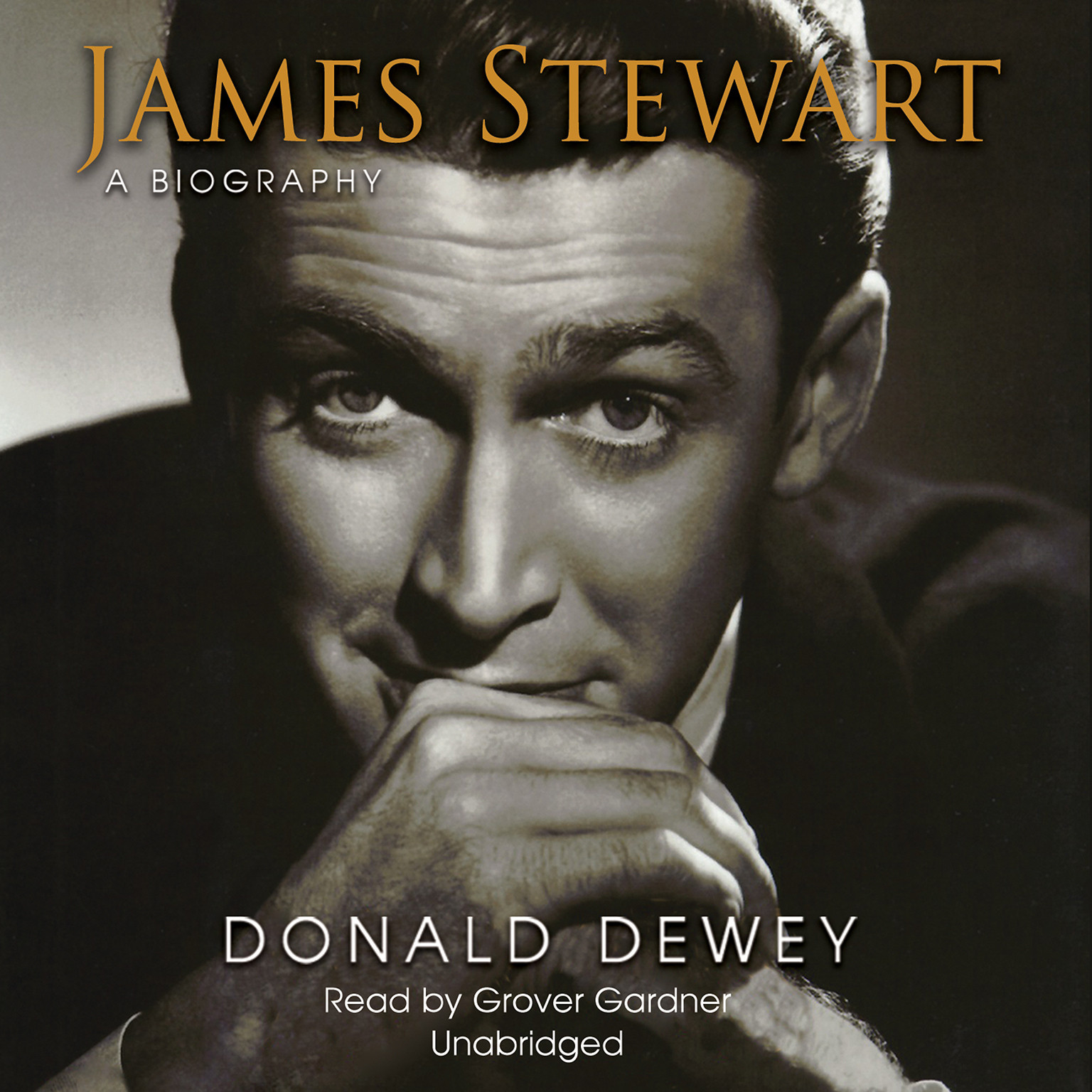 Printable James Stewart: A Biography Audiobook Cover Art