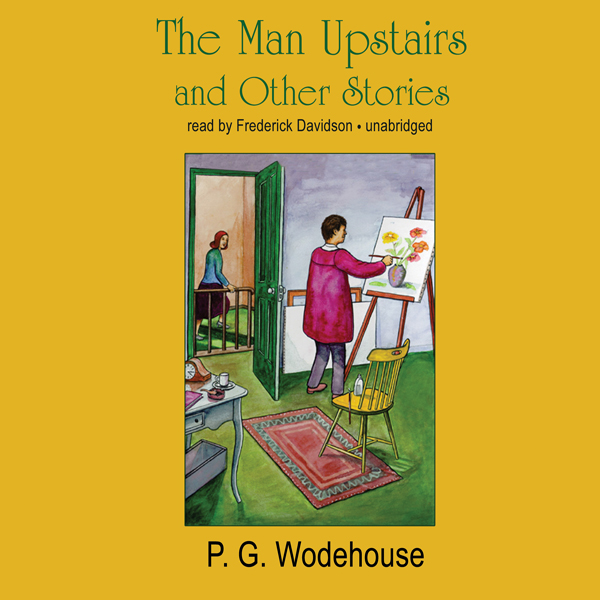 Printable The Man Upstairs and Other Stories Audiobook Cover Art