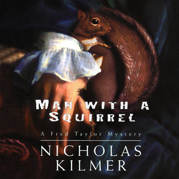 Printable Man with a Squirrel Audiobook Cover Art
