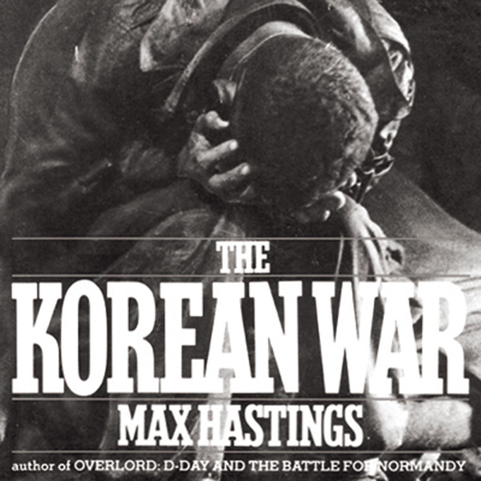 Printable The Korean War Audiobook Cover Art