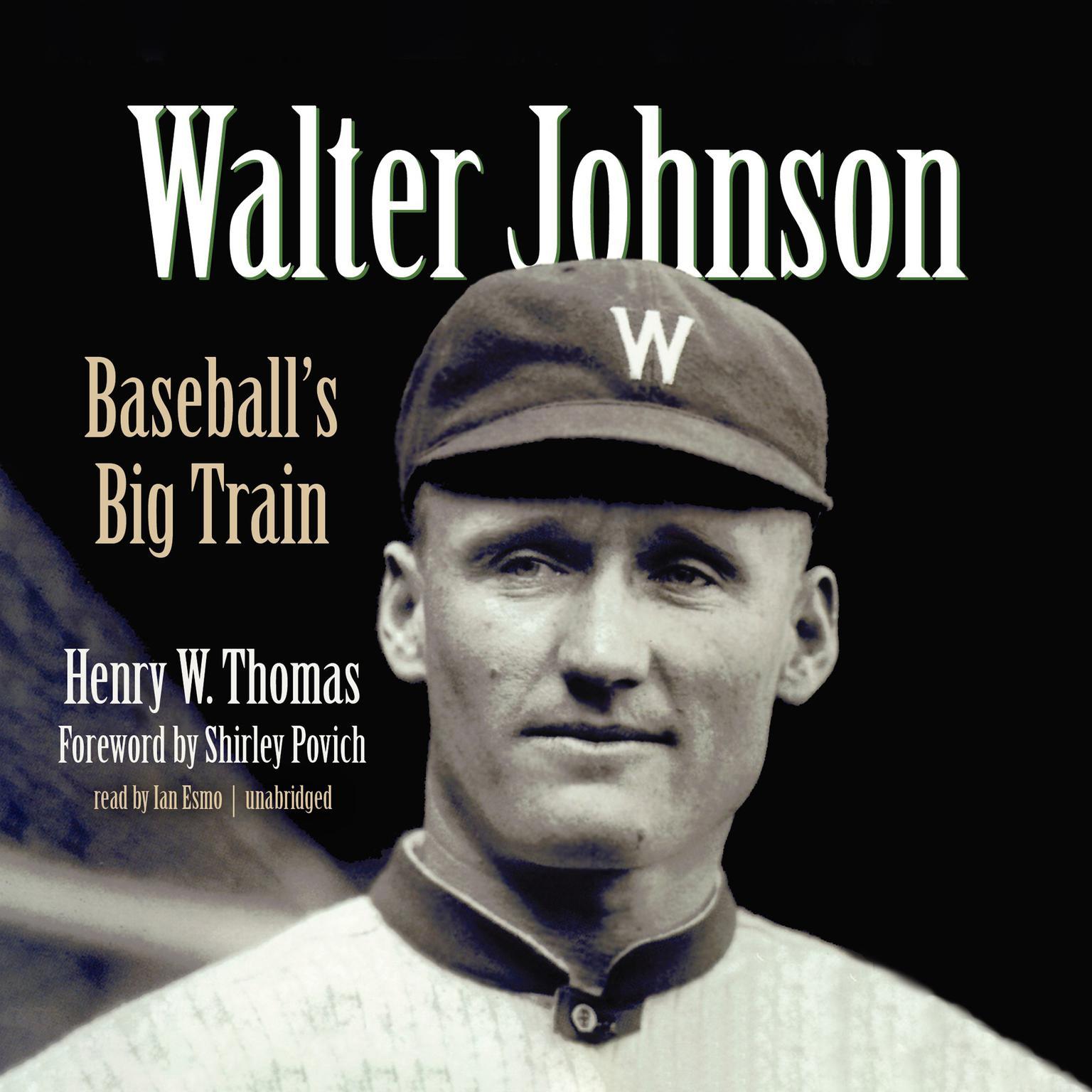 Printable Walter Johnson: Baseball's Big Train Audiobook Cover Art