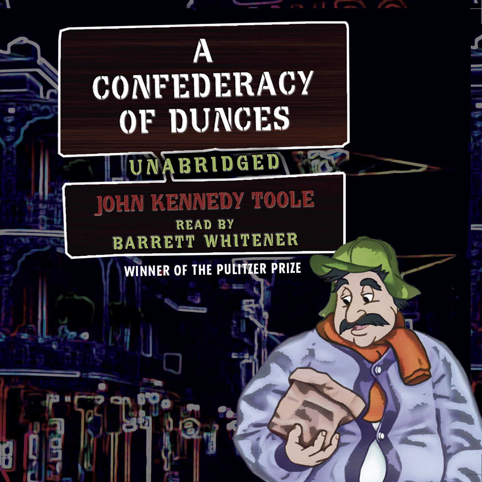 Printable A Confederacy of Dunces Audiobook Cover Art