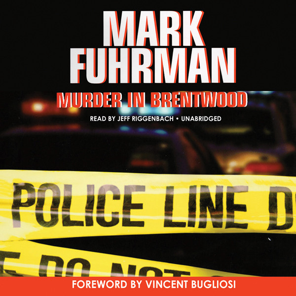 Printable Murder in Brentwood Audiobook Cover Art