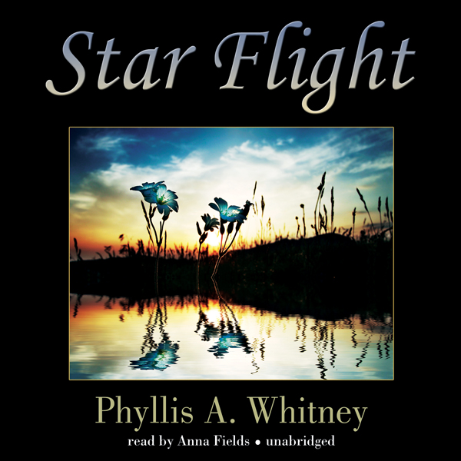 Printable Star Flight Audiobook Cover Art