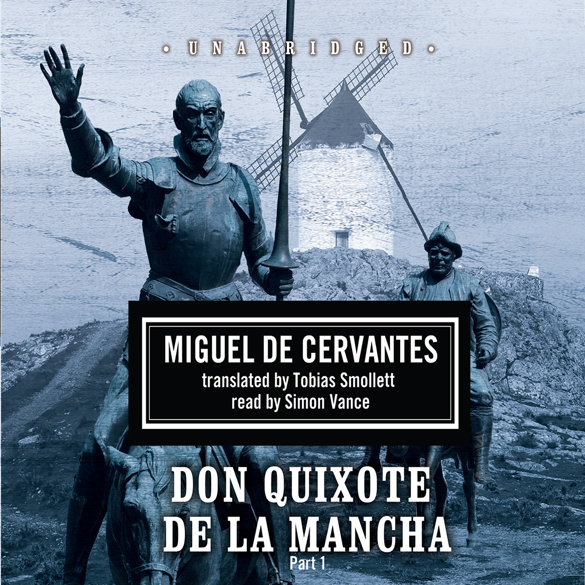 Printable Don Quixote de la Mancha Audiobook Cover Art