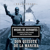Don Quixote de la Mancha Audiobook, by Miguel de Cervantes
