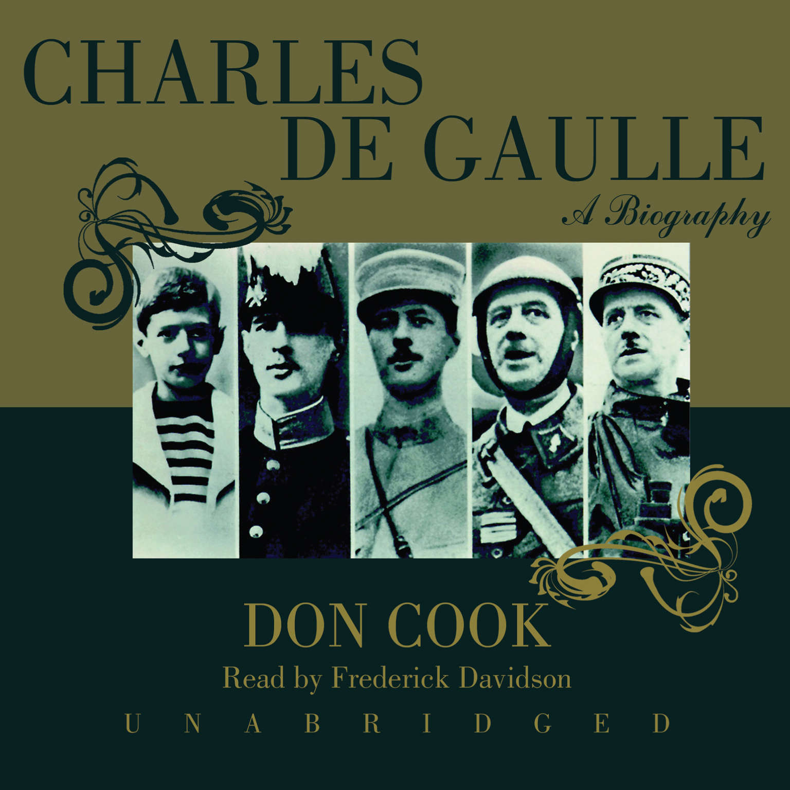 Printable Charles de Gaulle: A Biography Audiobook Cover Art