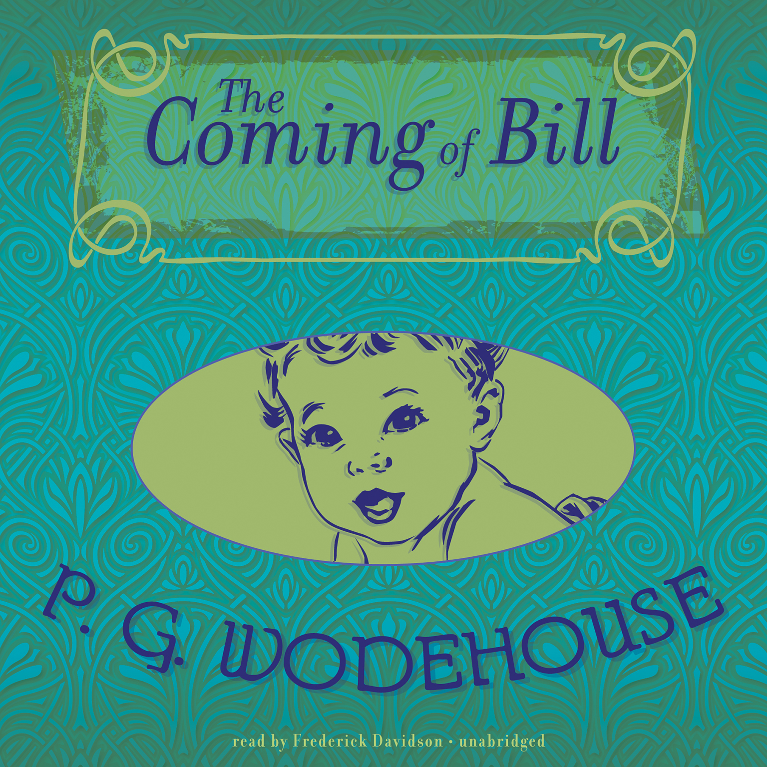 Printable The Coming of Bill Audiobook Cover Art