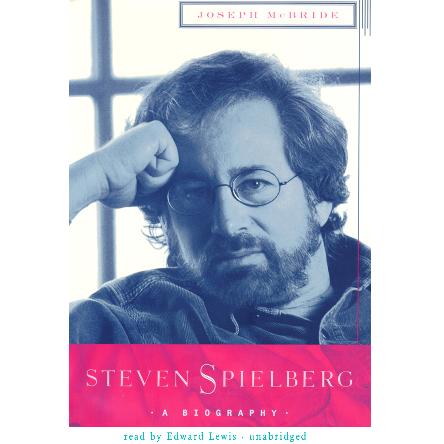 Printable Steven Spielberg: A Biography Audiobook Cover Art