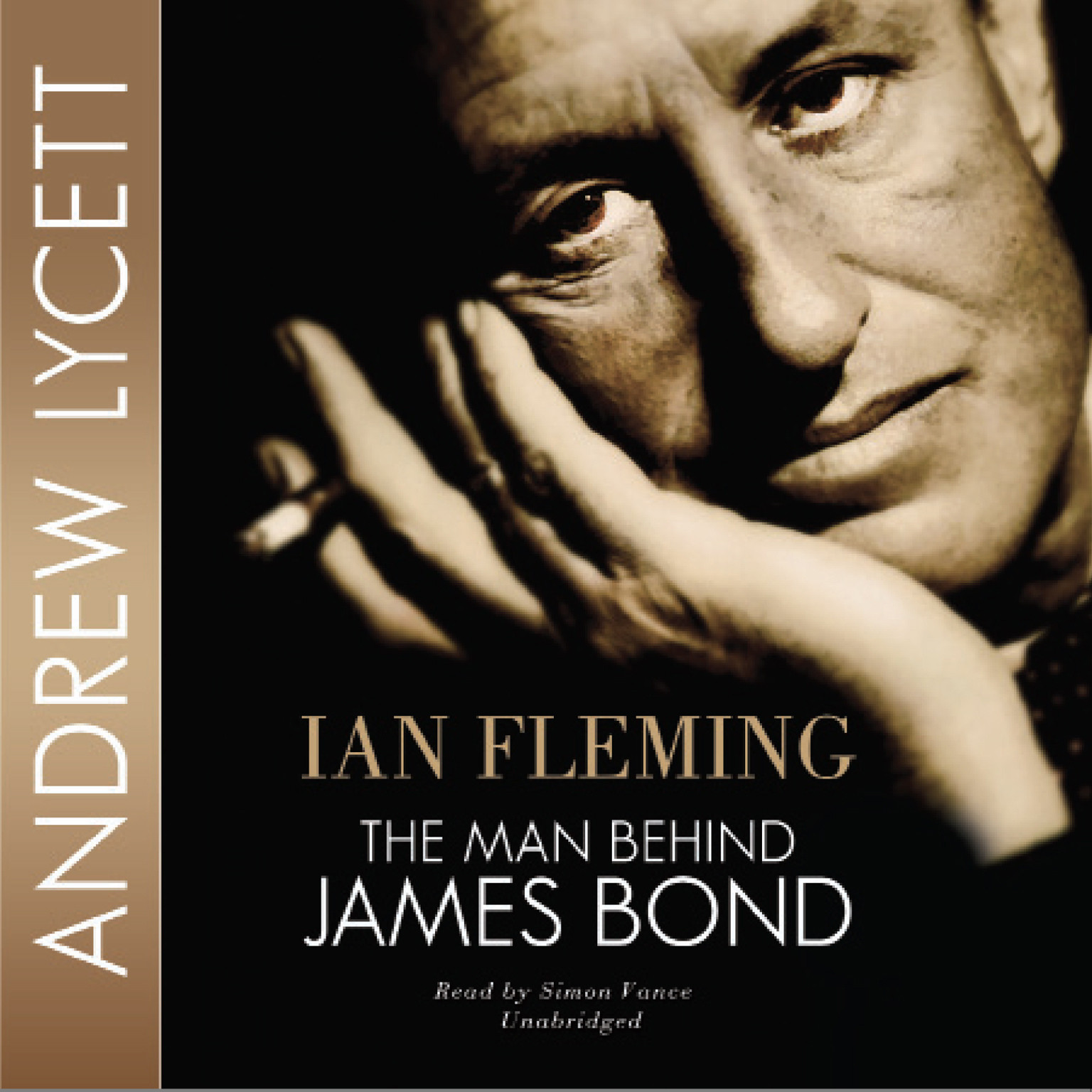 Printable Ian Fleming: The Man behind James Bond Audiobook Cover Art