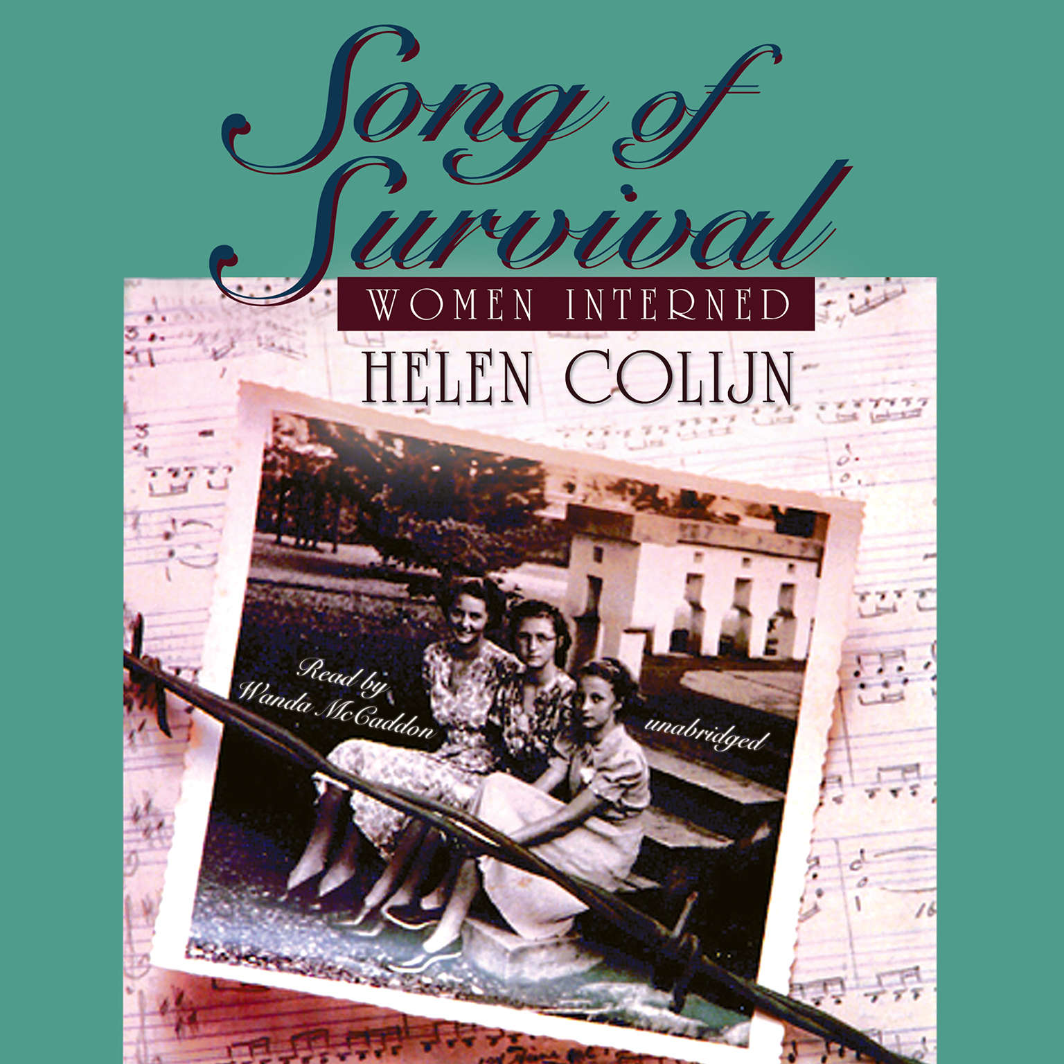 Printable Song of Survival: Women Interned Audiobook Cover Art